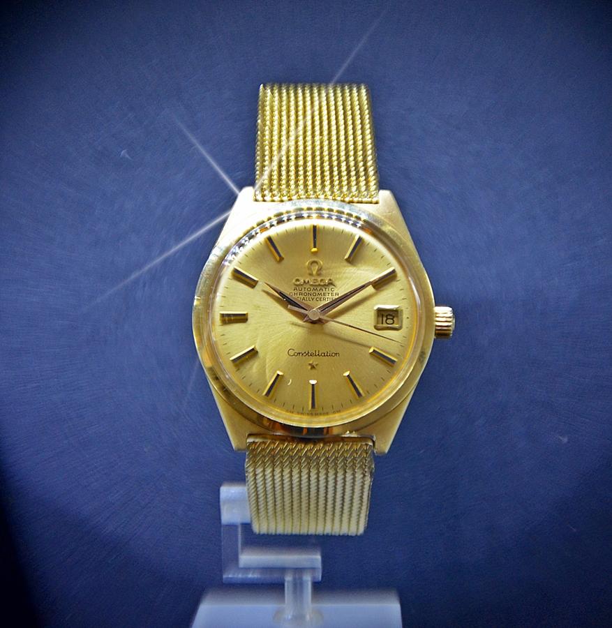 a10aef4cfcf3 Reloj Omega Constellation automatic oro.